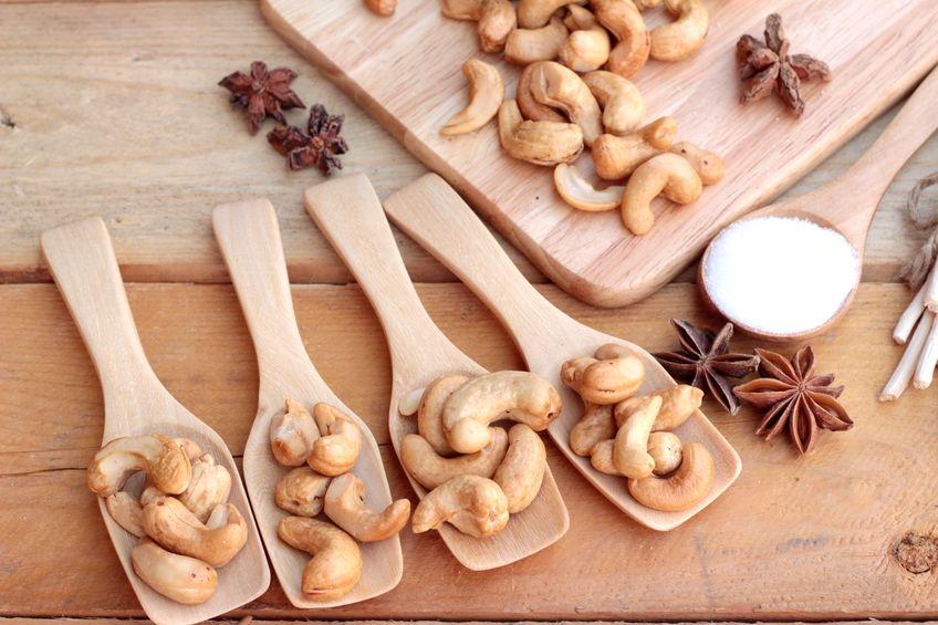 la noix de cajou a un effet direct sur la satiete